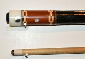 Vintage old Adam Pool Cue Billiards Custom pool stick Leather Wrap Model