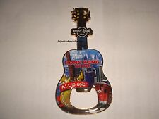 Hard Rock Cafe Hong Kong The Peak Guitar Bottle Opener Magnet