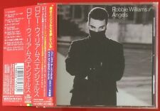 ROBBIE WILLIAMS ANGELS JAPANESE 10 TRACK CD SINGLE WITH OBI STRIP TAKE THAT
