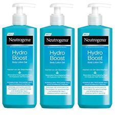 Neutrogena Hydro Boost Lozione per il Corpo Gel Confezione da (3 x 400 Ml)