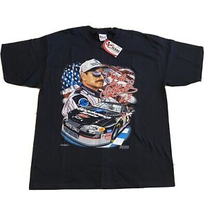Vintage Dale Earnhardt T Shirt # 3 NASCAR Goodwrench Chase Authentics XL NWT '01