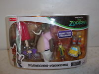 Disney Zootopia Operation Red Wood Figures - Target Exclusive - New