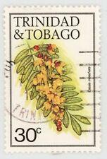 More details for trinidad & tobago 30c flowers 1983, wmk inverted, sg641w, fu