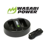 Wasabi Power Dual USB Battery Charger for Fujifilm NP-W126, BC-W126 Batteries