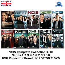 NCIS Complete Collection 1-10 Series 1 2 3 4 5 6 7 8 9 10 NEW SEALED UK R2 DVD