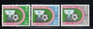 SAUDI ARABIA Asian Football Cup Victory MNH set