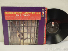 PAUL EVANS Another Town-Another Jail LP Kapp Records KS-3475 stereo VG+