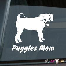 Puggles Mom Sticker Die Cut Vinyl