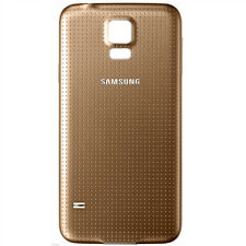 Samsung Galaxy S5 Battery Door Back Housing / Gold / PART / BRAND NEW / CANADA