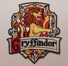HARRY POTTER GRYFFINDOR HOGWARTS SCHOOL OF MAGIC EMBLEM LOGO BADGE IRON ON PATCH