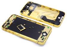 IPhone 4s marco intermedio frame hembrilla de carga Power Flex altavoz auricular oro