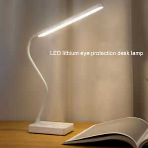 Dimmable USB Touch Control LED Desk Table Bedside Reading Lamp Light Foldable