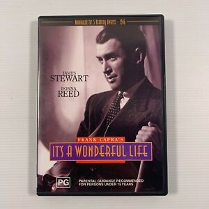 It's A Wonderful Life (DVD 2001) 1947 film James Stewart Donna Reed Region ALL
