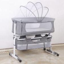Babywiege Babybett Stubenwagen Beistellbett klappbar höhenverstellbar mit Rollen
