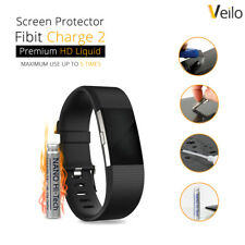 Fitbit Charge 2 HR Anti Glare Screen Protector Shields Liquid Tempered Glass