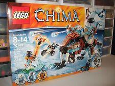 """LEGO CHIMA   """"SIR FANGAR'S SABER-TOOTH WALKER""""  # 70143    NIB"""