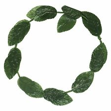 Roman Julius Caesar Toga / Poison Ivy Green Leaf Fancy Dress Headband