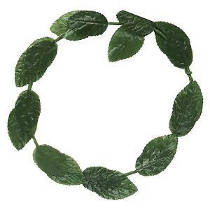 Roman Julius Caesar Toga / Poison Ivy Green Leaf Fancy Dress Greek Headband