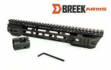 "12"" M Lok Slanted Slim Free Float Handguard Forward Cut Rail by Breek"