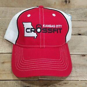 Kansas City Crossfit Cross Fit Exercise Gym Hat Baseball Cap Hat T3