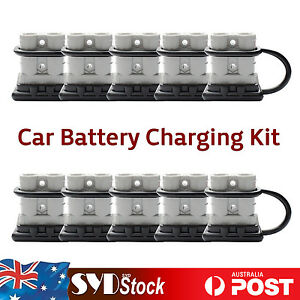 10 x 12 - 24V Premium Auto Exterior Battery Connector DC Power PLUGS 50AMP 6AWG