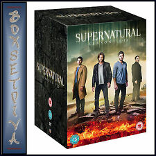 SUPERNATURAL - COMPLETE SEASONS 1 2 3 4 5 6 7 8 9 10 11 12 *BRAND NEW DVD BOXSET
