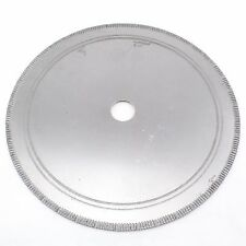 "10""Notched Rim 1.1mm Diamond Lapidary Rock Slab Saw Blade Arbor Hole 1"" 25.4mm"