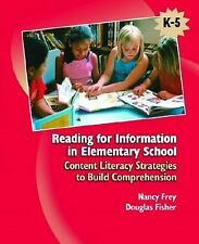 Reading for Information in Elementary School : Content Literacy Strategies to...