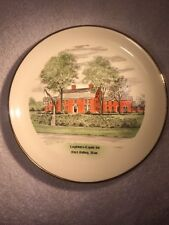 Vtg LONGFELLOWS Wayside Inn SOUTH SUDBURY Mass HERITAGE #4 Collectible PLATE