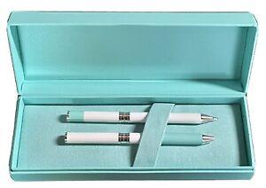 Tiffany Color Block Pen And Pencil Set. NEW