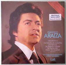 francisco araiza AM BEGINN EINER WELTKARRIERE LP vinyl sealed corner dings