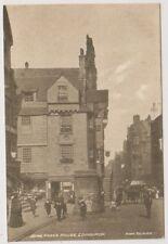 Midlothian postcard - John Knox's House, Edinburgh