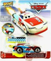 Pixar Cars PAUL CONREV Rocket Racing Diecast Car w/ Blast Wall XRS Xtreme Series