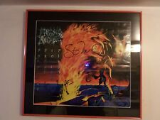 Morbid Angel Formulas Fatal To The Flesh Authentic Signed Framed Poster 20x22