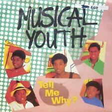 "Musical Youth(7"" Vinyl P/S)Tell Me Why?-Virgin-YOU 5-UK-VG+/NM"