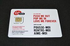 Lot of 500 Virgin Mobile SIM Cards Micro-SIM cards 4G LTE Bulk Wholesale Canada