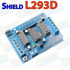 Shield L293D Controlador motor 4 canales Drive Expansion Board Arduino pasos UNO