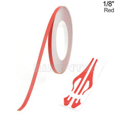 "1/8"" 3mm Red Pinstripe Pin Stripe DIY Roll Line Vinyl Tape Decal Sticker 32feet"