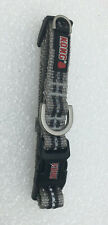 """New listing New Kong Reflective Dog Collar Small Grey Neck Size 10"""" - 14"""""""