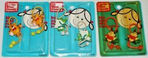 3 pkgs NEW Vintage 1980's Little Miss Goody Ponytailers Ponytail Frogs Cats Bunn