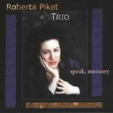Roberta Piket Trio Speak, Memory