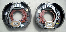 "TWO 12.25"" x 5"" Dexter Brake Backing Plate Electric Trailer 15,000# 12K 15K axle"