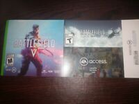 Battlefield V 5 Deluxe Edition + 1943 + EA Access 1 Mo Code XBOX One