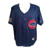 Majestic Chicago Cubs Baseball Jersey Size 48 Ryan Sandberg #23 Sewn Stitched FS