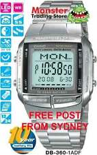 Rectangle Digital Silver Band Wristwatches