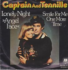 """Captain and TENNILLE solitaire Night (Angel Face)/Smile For Me One More Time 7"""""""
