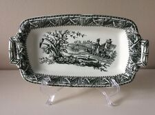 "Antique W.H. Grindley & Co. Tunstall ""Daffodil"" Rectangle Platter circa 1880'"