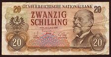 Österreich / Austria 20 Schilling 1956 Pick 136 (3)