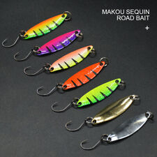 7x Fishing Trout Metal Spoon Lures Spinner Hard Baits  Tackle Hook US