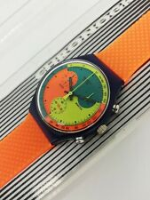 Swatch Chrono - 1990 - SCN101 - Signal Flag - NUOVO